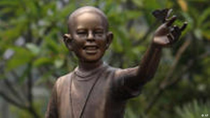 Indonesien Obama Statue