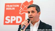 السياسي الألماني من أصل فلسطيني رائد صالح
