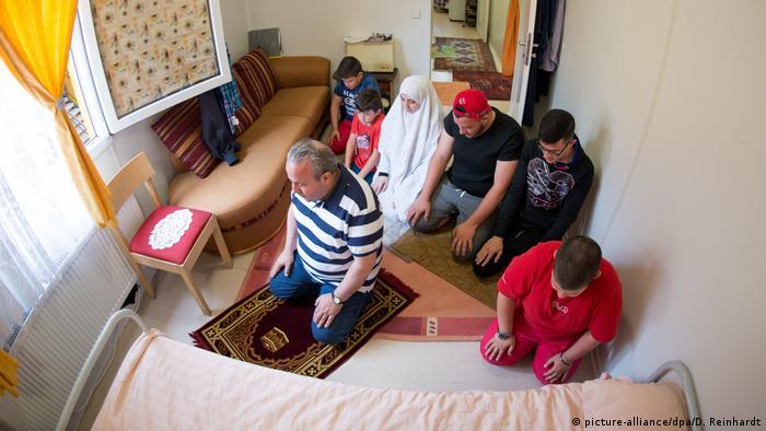 Сирийские беженцы в Гамбурге