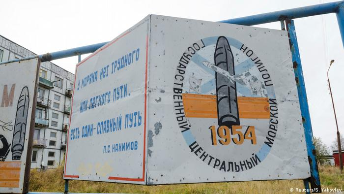 Guarnição militar de Nyonoksa, no noroeste russo