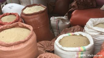 Lebensmittel im Bahir Dar lokalen Markt Äthiopien (DW/A. Mekonnen)