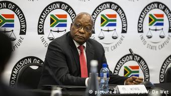 Südafrikas Ex-Präsident Zuma von Korruptionsermittlern befragt