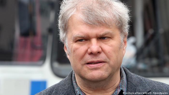 Independent candidate for Moscow City Duma Sergei Mitrokhin