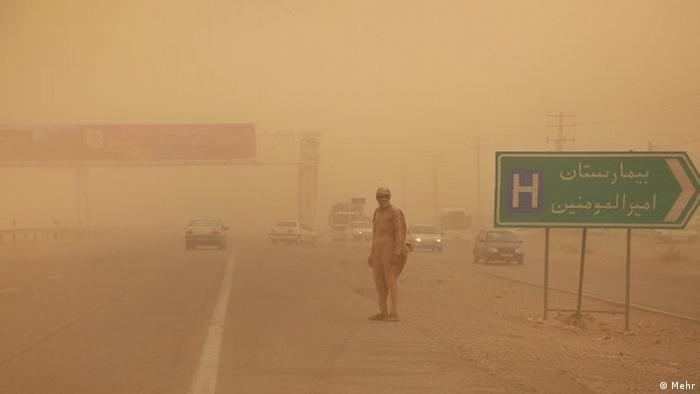 Iran Sturm Sistan-Beluchistan hurricane