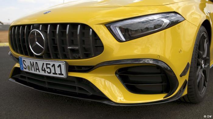 DW Motor mobil 34-19 | Online-Startbild | Mercedes A45 AMG (DW)