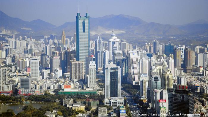China Stadt Shenzhen