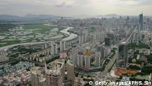 China Stadt Shenzhen Skyline