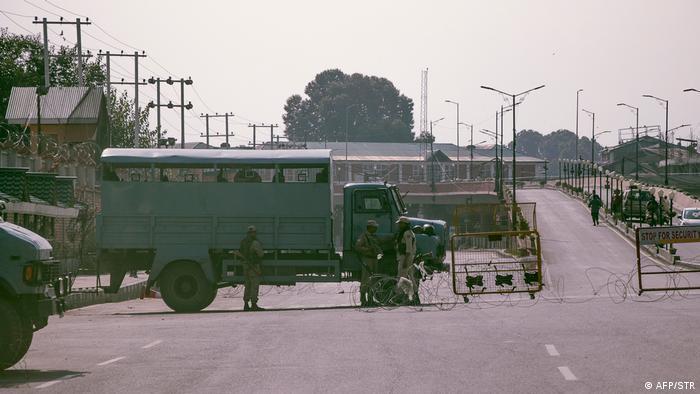 Indien Pakistan Kaschmir Unruhen (AFP/STR)