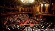Italien Regierung Senat