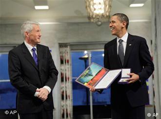 اوباما گفت که مردم ایران به صورت مسالمت آمیز در راه آزادی مبارزه می کنند
