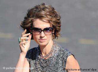 Syrian First Lady Asma al-Assad