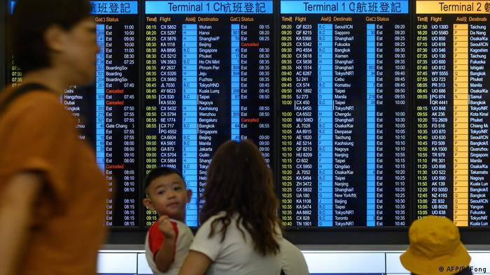 Hongkong Internationaler Flughafen (AFP/P. Fong)