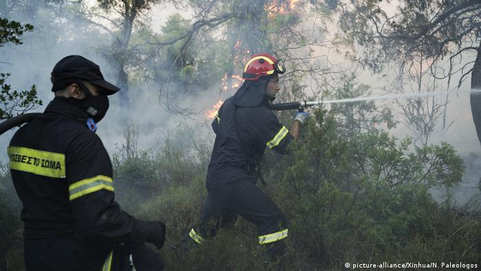Зусилля пожежних служб