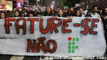 Brasilien Protest gegen Bolsonaros Bildungspolitik