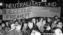 Monatgsdemonstration in Leipzig am 29. Januar 1990