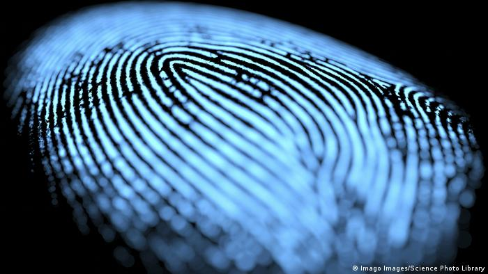 Symbolbild - Fingerabdruck Digital