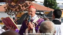 Italien Genova | Genua gedenkt der Opfer des Brückeneinsturzes: Kardinal Bagnasco