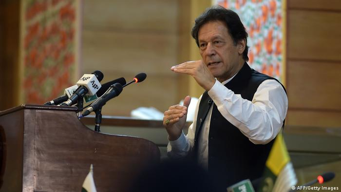 Pakistan Imran Khan in Kaschmir (AFP/Getty Images)