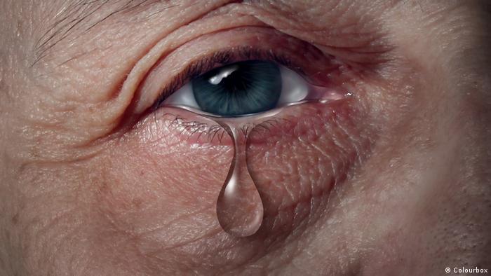 Tränen Weinen Trauer