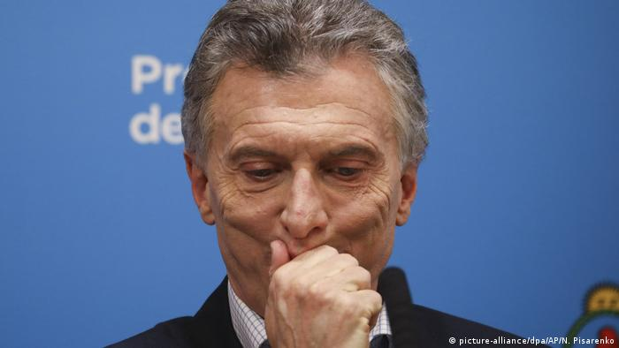 President Mauricio Macri suffered a crushing defeat in a primary vote