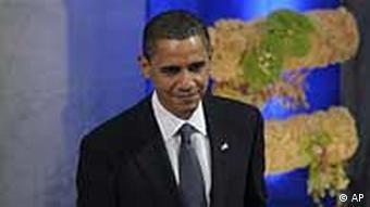 US-Präsident Barack Obama bei der Nobelpreisverleihung im norwegischen Oslo (Foto: AP)
