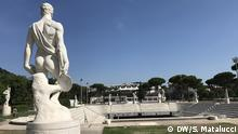 Foro Italico, formerly Foro Mussolini, which hosts the most important Italian tennis tournament