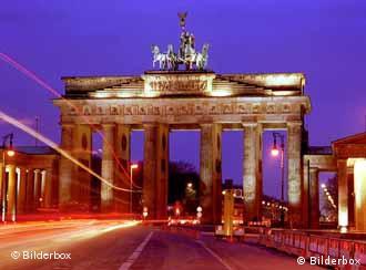 La Puerta de Brandenburgo, símbolo de Berlín.