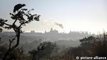 Brasilien - Geier und Siloanlagen für Soja des US-Konzerns Cargill