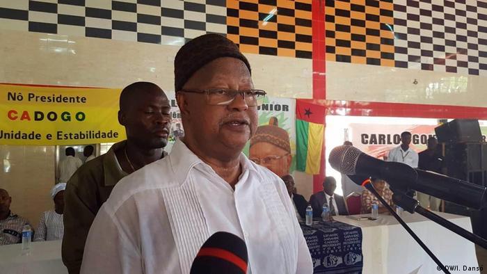 Carlos Gomes Junior Präsidentschaftskandidat in Guinea-Bissau