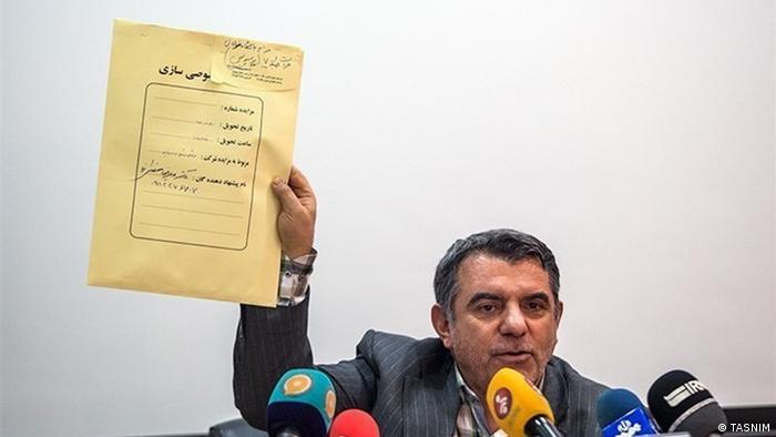 پوری حسینی، رئیس سابق سازمان خصوصی سازی جمهوری اسلامی