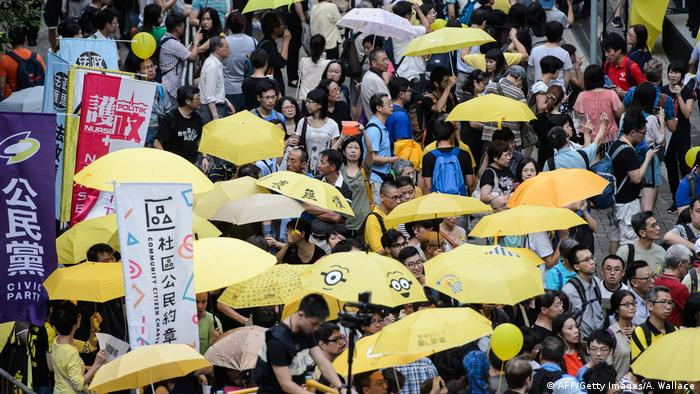 2014 protests in Hong Kong (AFP/Getty Images/A. Wallace)