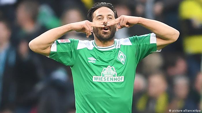 Werder Bremen / Claudio Pizarro (Perú).