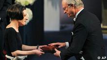 Herta Mueller verleihung Literaturnobelpreis