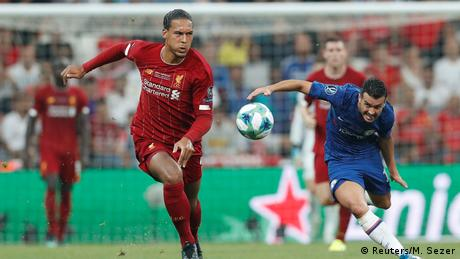 UEFA Super Cup - Liverpool v Chelsea (Reuters/M. Sezer)
