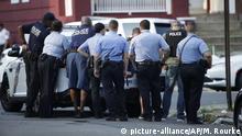 USA, Philadelphia: Bewaffneter feuert auf Polizisten