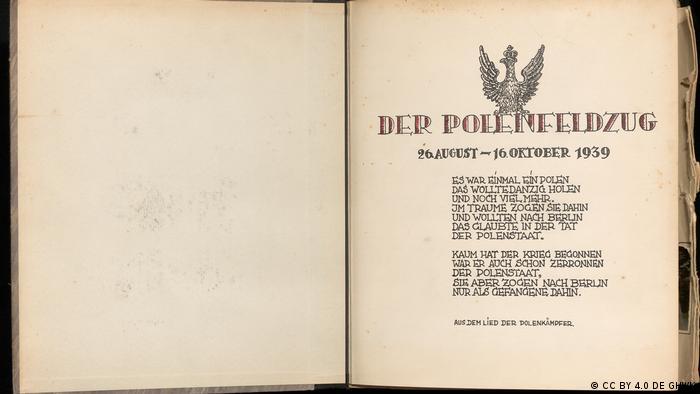 Stumme Zeugnisse 1939 - Fotos und Tagebücher deutscher Soldaten vom Überfall auf Polen 1939