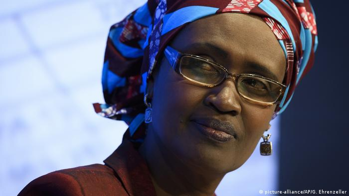 Winnie Byanyima (picture-alliance/AP/G. Ehrenzeller)