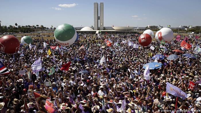 Womens March in Brasilia