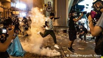 Unrest In Hong Kong During Anti-Government Protests (Getty Images/A. Kwan)