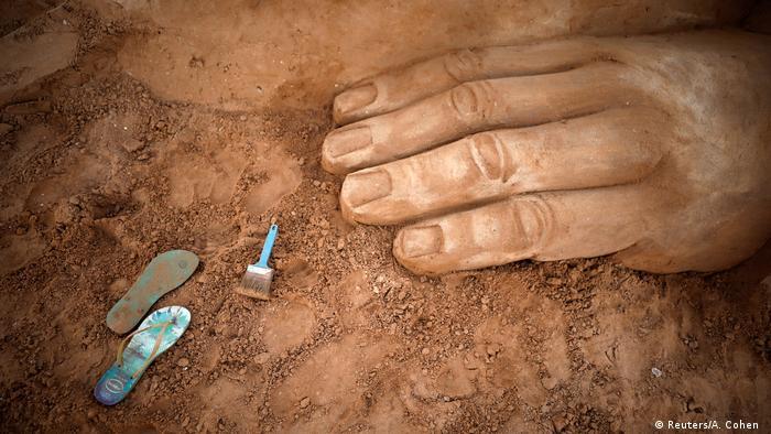 BdTD Israel Sandskulpturen-Festival in Ashkelon (Reuters/A. Cohen )