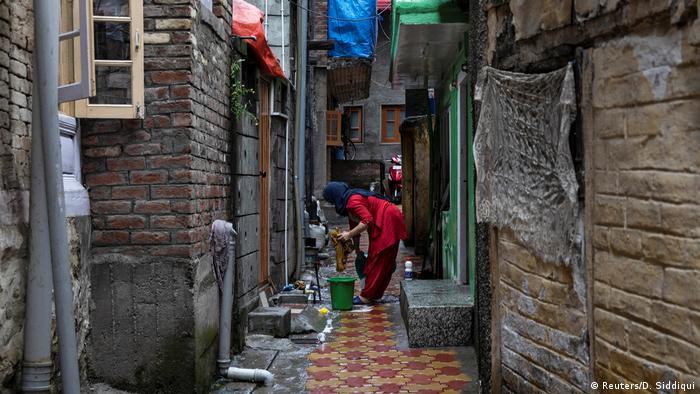 Bildergalerie Kaschmir Alltag in Srinagar (Reuters/D. Siddiqui)