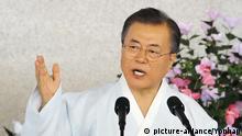 Südkorea Präsident Moon Jae-in Rede