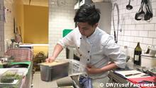 Bonn Anggra Arifani Rahman Berufsschüler aus Indonesien (DW/Yusuf Pamuncak)