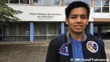 Bonn Anggra Arifani Rahman Berufsschüler aus Indonesien