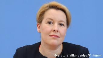 Berlin | Bundesfamilienministerin Franziska Giffey SPD