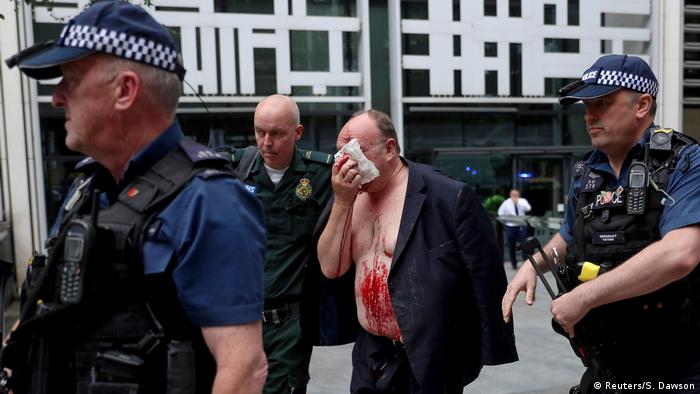 Man stabbed at UK Home Office in London