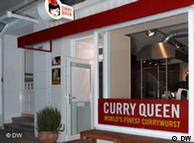 Curry Queen restaurant in Hamburg