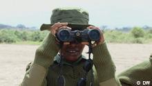 Titel: Global Kenia Ranger Rangerinnen Beschreibung: Junge Massai-Frauen in Kenia werden zu Rangern ausgebildet und sollen schon bald Wildtiere schützen Rechte: sind gegeben Copyright: DW