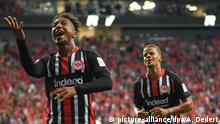 Fußball Europa League Qualifikation Eintracht Frankfurt - FC Vaduz | Torjubel (1:0) (picture-alliance/dpa/A. Dedert)