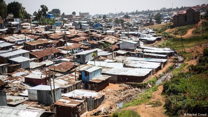 Kibera-Slum in Nairobi (Rachel Creed)